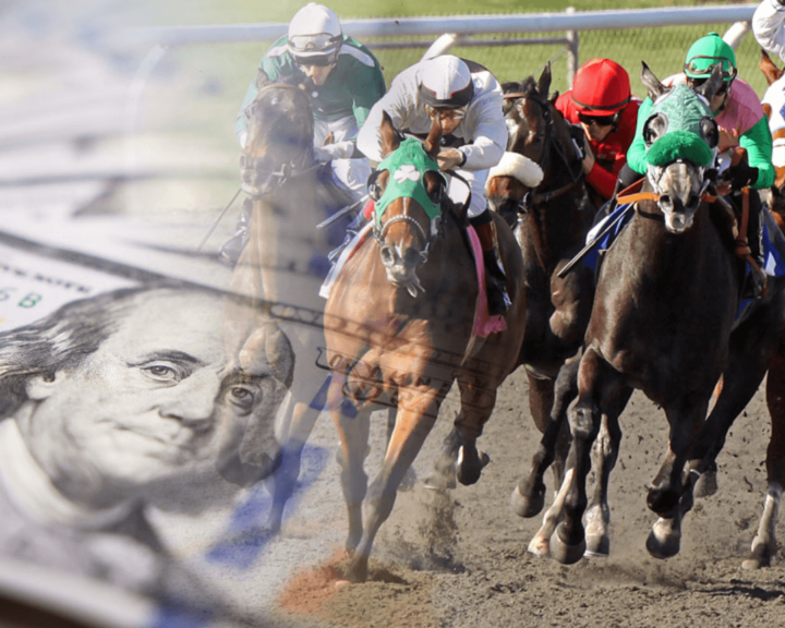 betting money on horse racing